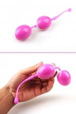 Рельефные вагинальные шарики со смещенным центром тяжести