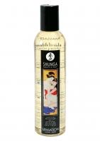Массажное масло лавандовое Shunga Massage Oil Sensation