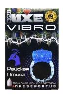 Презерватив с кольцом для эрекции Райская Птица - Luxe Vibro